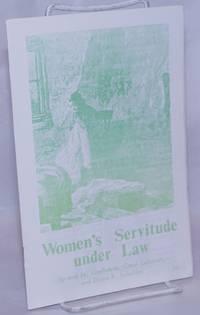 image of Women's Servitude Under Law