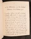 The Doctrine of the Millennium with the principal Scriptural Proofs and Testimonies on which it is founded, stated and examined and its Uses considered: being an abstract from the Introductory volume of Greswell's Exposition of the Parables 1837 [MS]