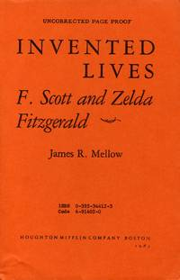 image of Invented Lives: F. Scott and Zelda Fitzgerald [Uncorrected Page Proof]