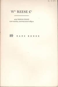 image of Catalogue 10 (Rare Books) Rare Americana and Literature.