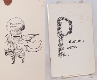 : Self published, 1977. 5.5x8.5 inches, illustrations, poems, very good first edition in stapled pic...