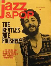 image of Magazine Jazz & Pop. The Beatles are finished