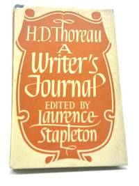 H. D. Thoreau: A Writer's Journal
