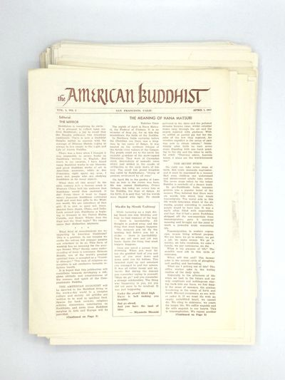 THE AMERICAN BUDDHIST