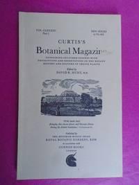 CURTIS'S BOTANICAL MAGAZINE Vol. CLXXIII Part 1 (November 1969)