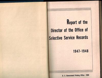 Washington, D.C.: U.S Government Printing Office, 1950. Near Fine, small dampstain bottom corner of ...