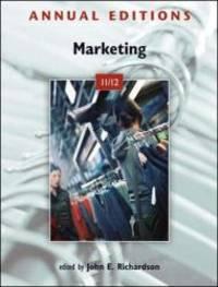 Annual Editions: Marketing 11/12