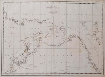 Paris: La Perouse, 1797. Book. Very good+ condition. Unbound. First Edition. Folio. A large map in b...