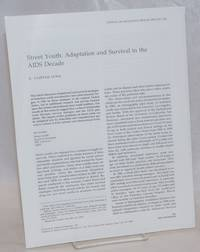 image of Street Youth: adapatation and survival in the AIDS decade [offprint pamphlet]