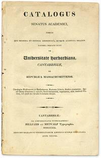 Catalogus Senatus Academici, Eorum qui Munera et Officia Gesserunt..