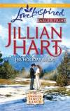 His Holiday Bride (Granger Family Ranch Series #3) (Larger Print Love Inspired #589)