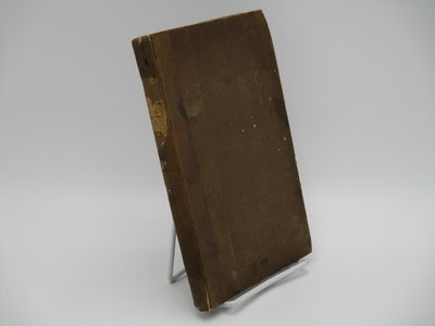 London.: John Wilson. , 1831 . 1st Edition.. Contemporary quarter brown cloth over brown boards, rem...