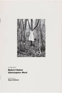 A Project: Robert Gober and Christopher Wool
