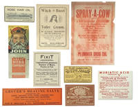 A Collection of Quack Products' Labels