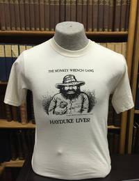 Hayduke Lives! T-Shirt - Natural (L); The Monkey Wrench Gang T-Shirt Series