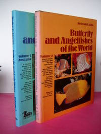 BUTTERFLY AND ANGELFISHES OF THE WORLD VOLUME 1 AUSTRALIA and VOLUME 2 ATLANTIC OCEAN (2 Vol. set)