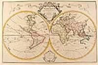 Mappe-Monde Drésse sur les Observations de Mrs. de l'Academie Royal des Sciences et quelques autres sur les memoires les plus recens