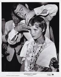 image of Rosemary's Baby (Original photograph of Mia Farrow and Vidal Sassoon from the set of the 1968 film)