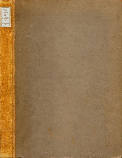 San Francisco: John Howell, 1921. Hardcover. Good +. Octavo. , 193 pages. Gray paper covered boards ...
