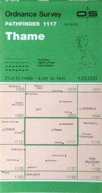 Thame Pathfinder map sheet 1117