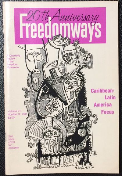 New York: Freedomways Associates Inc, 1981. Single issue of the staplebound journal, pp. 149-224, ve...