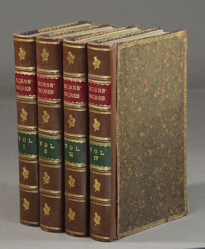 London: T. Cadell, W. Davies, and W. Creech, 1803. 4 volumes, 8vo, engraved portrait, engraved vigne...