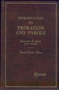 Image for INTRODUCTION TO PROBATION AND PAROLE