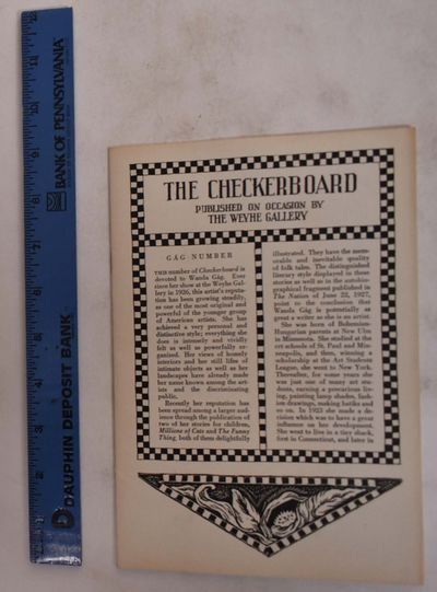 New York: Weyhe Gallery, 1930. Softcover. VG+ an as new copy with minor age-toning.. Cream paper wra...
