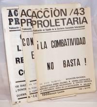 Accion Proletaria [three issues]
