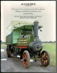 image of Collectors Cars. Commercial, Horsedrawn, Military and Steam Vehicles and Automobilia: Auction Catalogue 17th October 1994