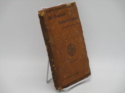Calcutta. : University of Calcutta. , 1917 . 3rd Edition.. Brown boards, black titles. . Good, cover...