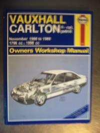 Vauxhall Carlton 4-cyl, petrol. November 1986-1989. (Haynes Owners Workshop Manual)
