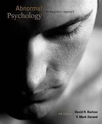 image of Abnormal Psychology: An Integrative Approach (with CourseMate Printed Access Card)