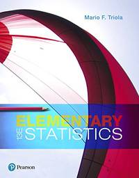 Elementary Statistics by Mario F. Triola - Hardcover - 13 - (01/11/2017) - from California Books Inc (SKU: 2525)
