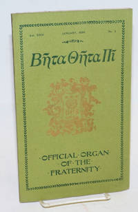 Beta theta pi, official organ of the fraternity vol. xxiii, January 1895, no. 3 [cover titling] The beta theta pi with which has been united The mystic messenger [title page]