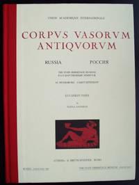 Corpus Vasorum Antiquorum. Russia. Fascicule VIII. The State Hermitage Museum St Petersburg. Lucanian Vases. Fascicule I.