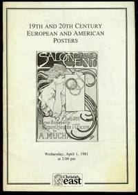 19th and 20th Century European and American Posters (Wednesday, April 1, 1981)