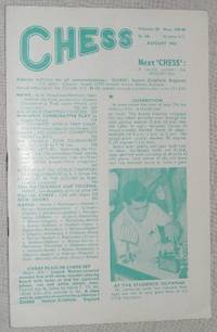 Chess: August 1963, Volume 28, No 439-40