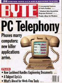 image of BYTE Magazine - July 1994; Vol 19, No 7