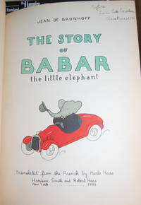 image of The Story of Babar: the little elephant.