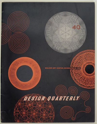 Minneapolis, MN: Walker Art Center, 1957. First edition. Softcover. 28 pages. This issue looks at