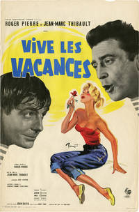 Vive les vacances (Original French poster for the 1958 film)