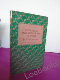 LITERATURE AND AUTHORSHIP IN INDIA
