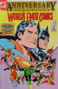 World's Finest Comics 300: A Tale Of Two Worlds! Or: Planets Of Peril! (  Anniversary Issue...