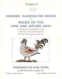 Catalogue 56/1967: Modern Illustrated Books and Books on the Fine and  Applied Arts including rare and important works of the 16th, 17th and 18th  centuries, drawing books, pattern books, etc.