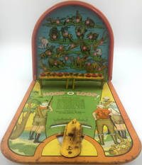image of 'Sunny Andy' Hoop-O-Loop  (metal shooting game) including kangaroo, polar bear, elephant, lion, panther, etc. as targets