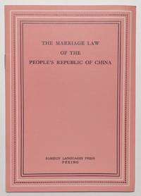 image of The marriage law of the People's Republic of China