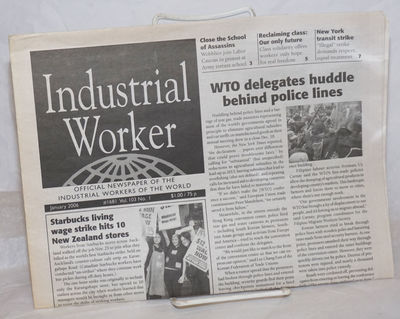 Philadelphia: Industrial Workers of the World, 2006. Newspaper. One issue, tabloid format newspaper,...