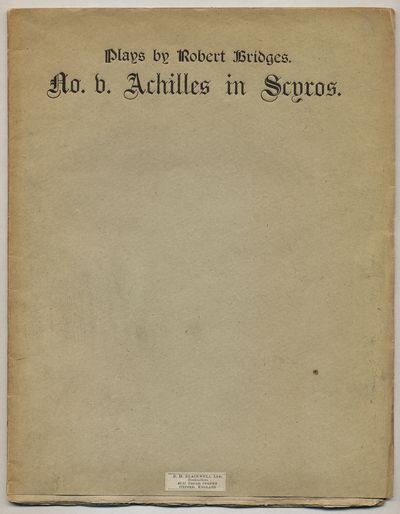 London: Edward Bumpus, 1890. Softcover. Very Good. First edition. Original printed gray wrappers. Un...
