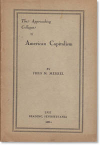 The Approaching Collapse of American Capitalism